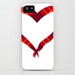 Just Love iPhone Case