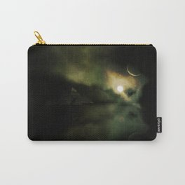 Pyramids Green Carry-All Pouch
