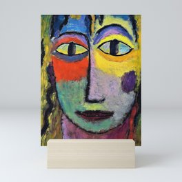 12,000pixel-500dpi - Alexej von Jawlensky - Medusa - Digital Remastered Edition Mini Art Print