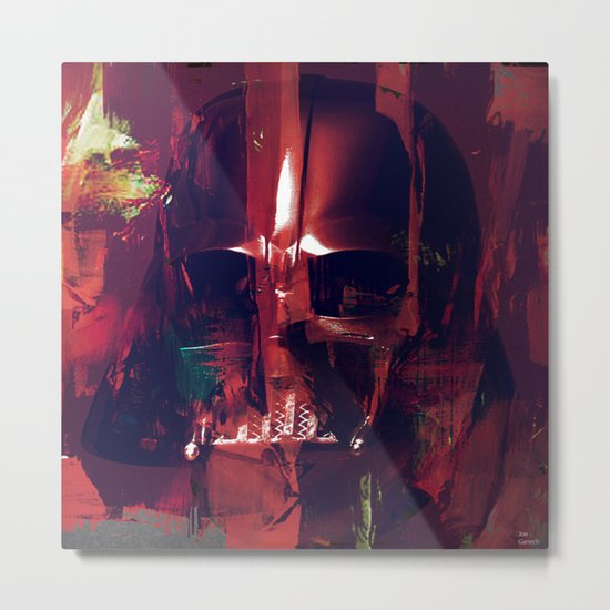 darth Abstract vader Metal Print