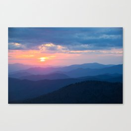 Sunset in Tennessee Canvas Print