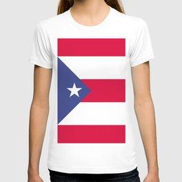 Puerto Rico flag emblem T-shirt