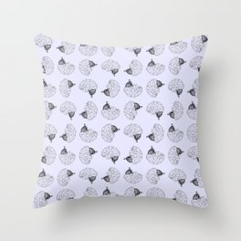 BRAINIAC Throw Pillow