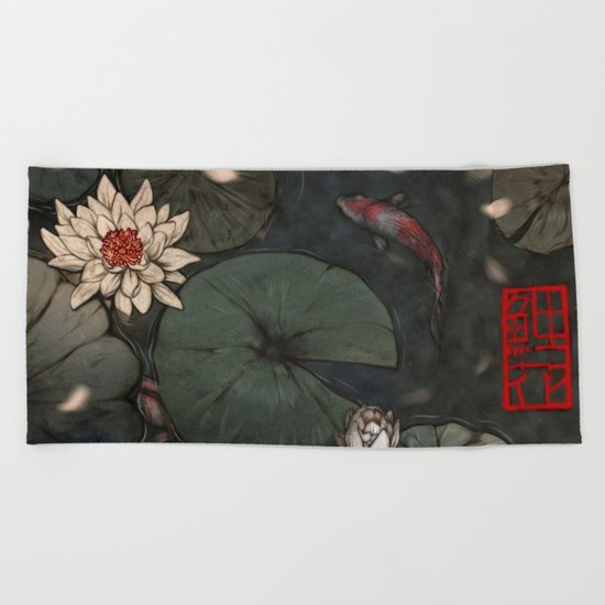 Lotus 2.0 Beach Towel