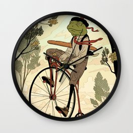 Morning Ride Wall Clock
