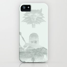Witcher | Geralt of Rivia  iPhone Case