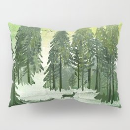 Green Forest Pillow Sham