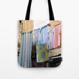 LAUNDRY DAY - Catania - Sicily Tote Bag
