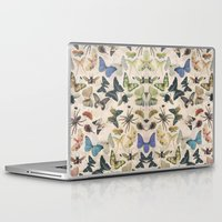 insect Laptop & iPad Skins featuring Insect Jungle by Galvanise The Dog