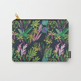 dark tropical Carry-All Pouch