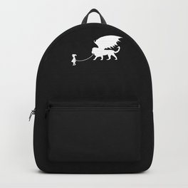Manticore Pet Walked By Girl Backpack