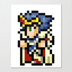 Final Fantasy II - Paladin Cecil Canvas Print