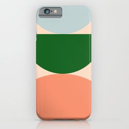 Abstraction_BALANCE_Minimalism_Color_Art_001 iPhone Case
