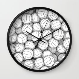 All I Want To Do Is Volleyball Wall Clock