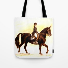Horses and People No.2 Tote Bag