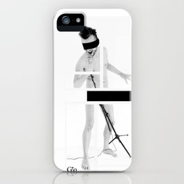 naked song iPhone Case