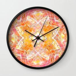 Wizard's Geometry Wall Clock