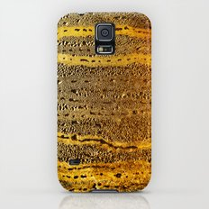 golden abstract Galaxy S5 Slim Case
