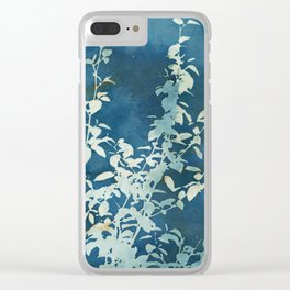 Evening Blooms Clear iPhone Case