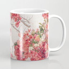 Mediterranean Bougainvillea Flower Coffee Mug