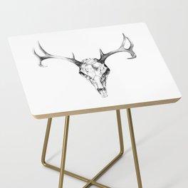 Deer Skull in Pencil Side Table