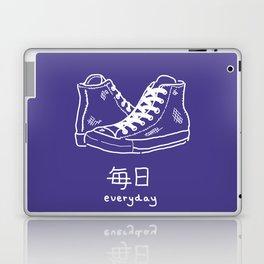 High-Tops (mainichi) Laptop & iPad Skin
