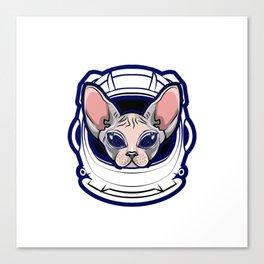 Space Sky astronaut furniture Design by diegoramonart Canvas Print