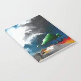 Lonely Tree Notebook