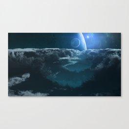 Alien Cloudscape Canvas Print