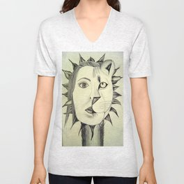 Sun Warrior Unisex V-Neck