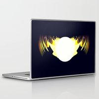 falcon Laptop & iPad Skins featuring falcon by donphil