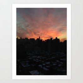 nyc, you're gorgeous Art Print