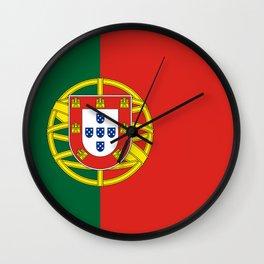 Flag of Portugal Wall Clock
