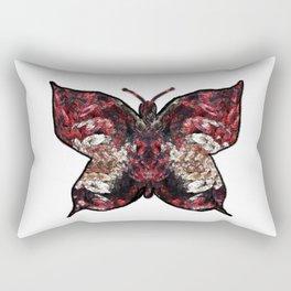 Butterfly fractal Rectangular Pillow