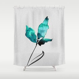 Floral Abstract No.2g by Kathy Morton Stanion Shower Curtain
