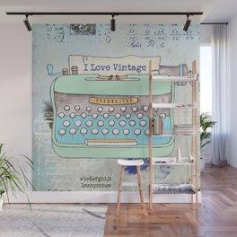 Typewriter #8 Wall Mural