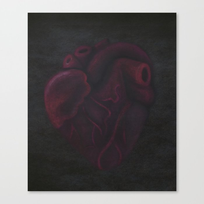 Beating Heart Canvas Print