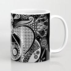 Spring tangle, black Mug