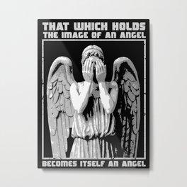 The image of an angel. Metal Print