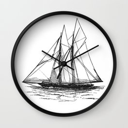 Vintage Yacht Wall Clock