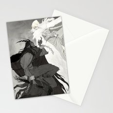 Krampus and Perchta Stationery Cards