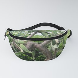 Watercolor Prickly Pear Cactus Fanny Pack