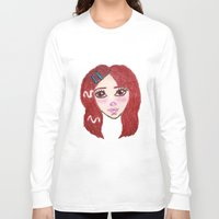 ruby Long Sleeve T-shirts featuring Ruby by Feral Doe