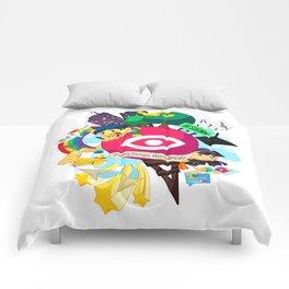 Designn Illustrated Comforters