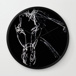 Artist at the Races           by Kay Lipton Wall Clock