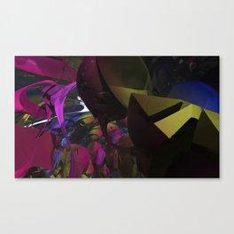 Crawl Space! Canvas Print