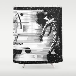 Just Give Me Some Space - Shower Curtain