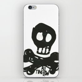 All Time Low Skull and Cross Bones iPhone Skin