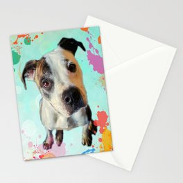 Jess Paint Splash Stationery Cards
