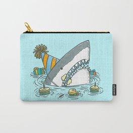 Birthday Shark II Carry-All Pouch